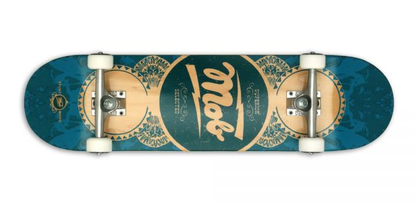 MOB Skateboards Komplettboard Gold Label - 8.25