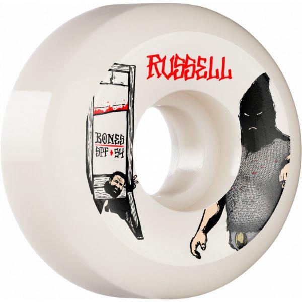 Bones Wheels Skateboard Rollen SPF Russell Executioner 84B V5 56mm