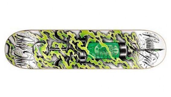 Darkstar Dyet Skate Junkie Skateboard Deck 7.70 Resin-7