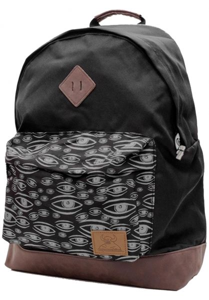 Toy-Machine Multi Eye Skateboard Rucksack black