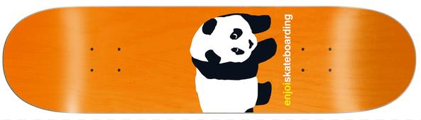 Enjoi Team Peekaboo Panda R7 Skateboard Deck 8.50