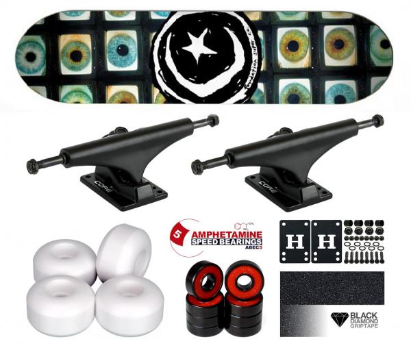 Foundation Star & Moon Pupil Komplett Skateboard 8.25