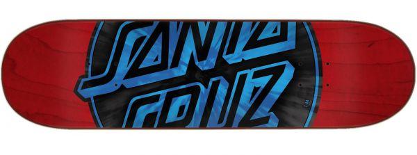 Santa Cruz Warp Dot Hard Rock Maple Skateboard Deck 8.25