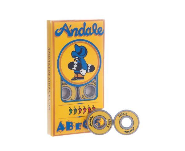Andale Skateboard Bearings ABEC 5