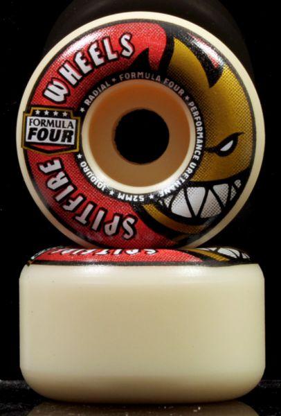 Spitfire Skateboard Rollen F4 Radials 101A 52mm