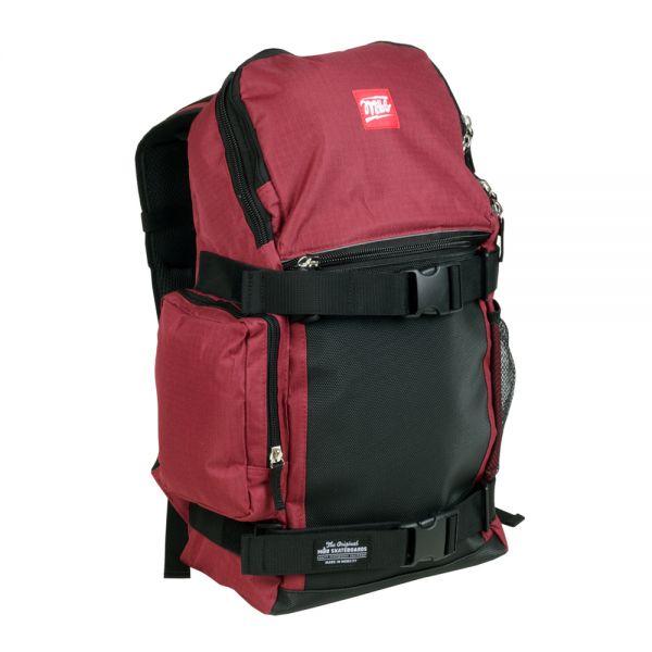 MOB Skateboards Backpack Trouble - burgundy