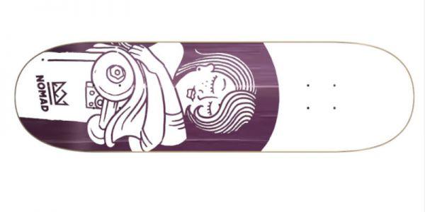 NOMAD Boobies purple Deck - 8.13