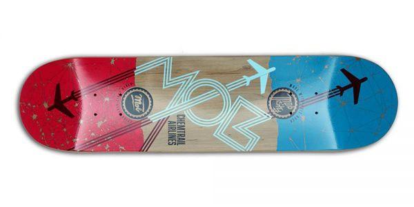 MOB Skateboards Airlines Deck - 8.0