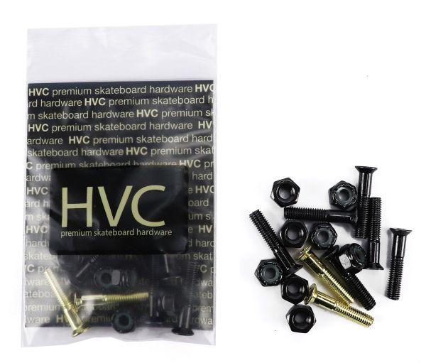 "HVC Hardware Set Inbus 1"" schwarz / gold"