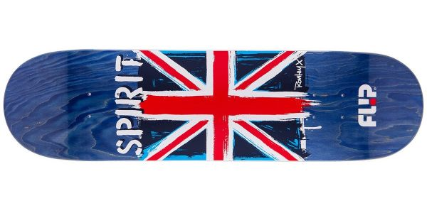 Flip Rowley Spirit Skateboard Deck 8.25