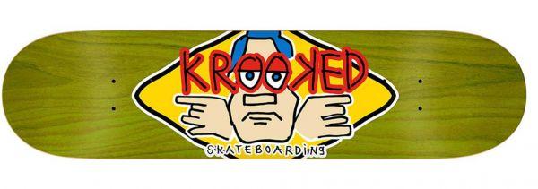 Krooked Team Arketype Skateboard Deck 8.5