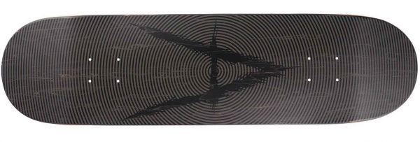 Antiz Vertigo Pale Black Skateboard Deck 8.5
