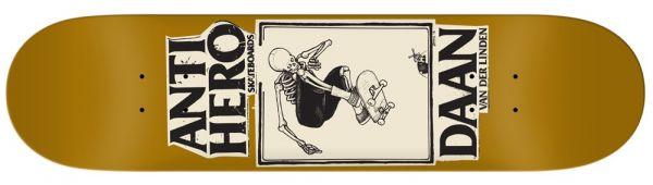 Anti Hero Van Der Linden Lance Guest Art Skateboard Deck 8.25