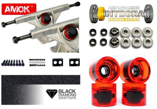 Amok Downhill 150 Raw Advanced Longboard Achsen Set
