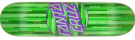 Santa-Cruz Strip Stripe Dot Team Skateboard Deck 8.125