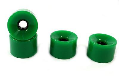 Blank Longboard Wheels Lime Green 70mm 82a