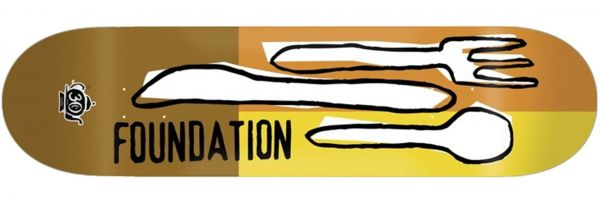 Foundation Forks Reissue 30 Years Skateboard Deck 8.5