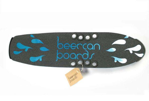 Beercan Cruiser Brewster Deck Blue 30