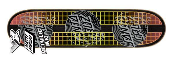 Santa Cruz Transcend Dots VX Skateboard Deck 7.75