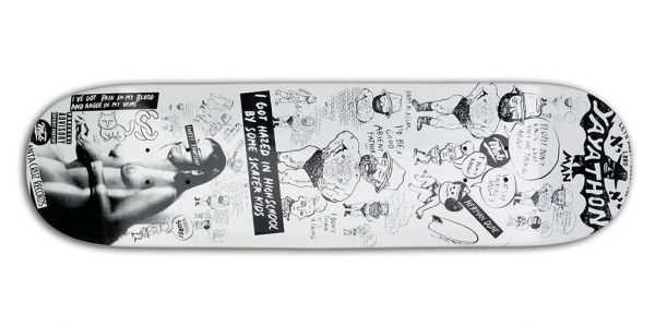 MOB Skateboards Deck Yaya - 8.25
