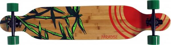 Paradise Bamboo Sun Drop Through Bamboo Komplett Longboard