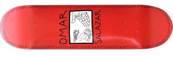Doomsayers Omar Snake Shake Skateboard Deck 8.25