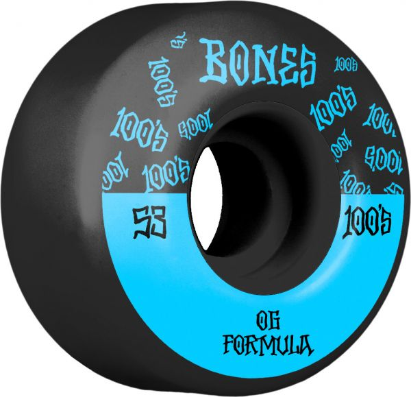 Bones Wheels 100's OG #13 V4 black 53mm