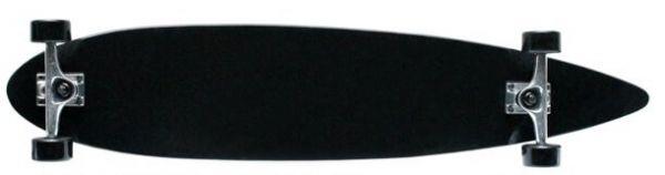 Krown - Black Pintail Longboard Complete 43 x 9