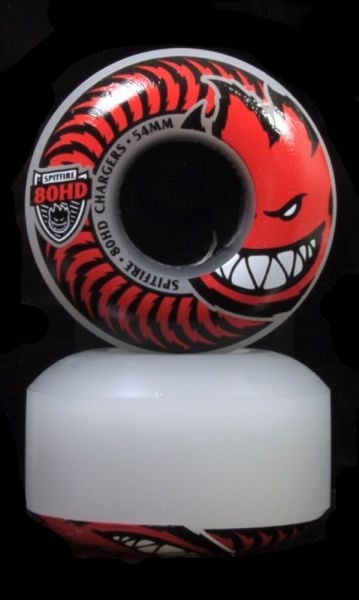 Spitfire Wheels Charger Classic Clear 80A 54mm