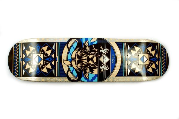 FUA Buffalo blue Skateboard Deck