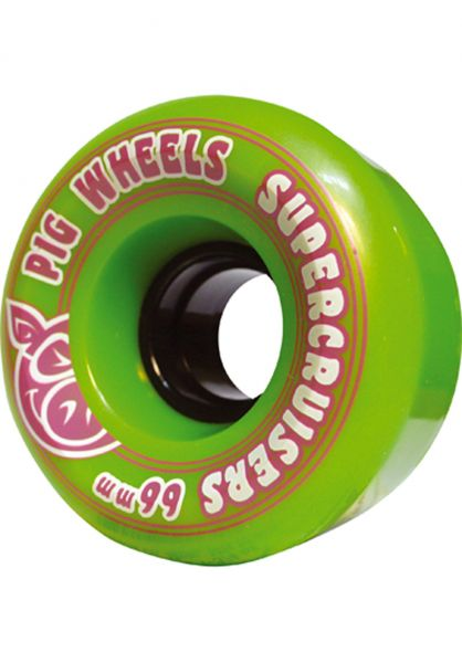 Pig Wheels Skateboard Rollen Supercruisers II 85a 66mm