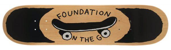 Foundation On The Go Skateboard Deck 7.75