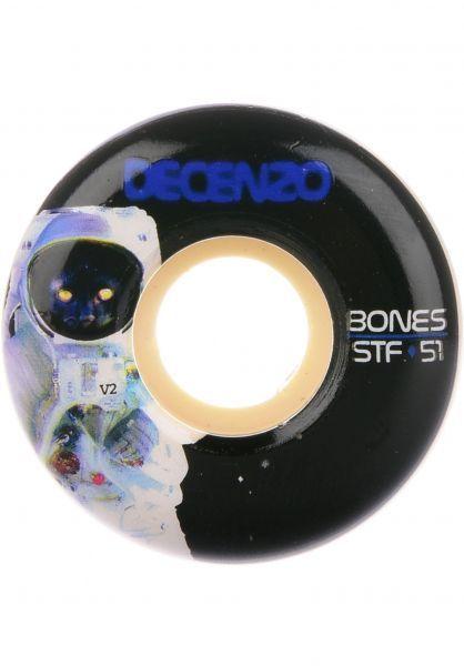 Bones Wheels Skateboard Rollen STF Decenzo Catstronaut 83b V2 53mm