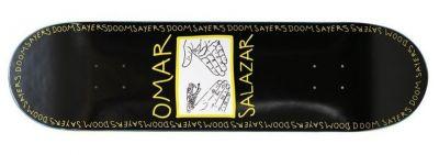 Doomsayers Omar Snake Shake Skateboard Deck 8.4