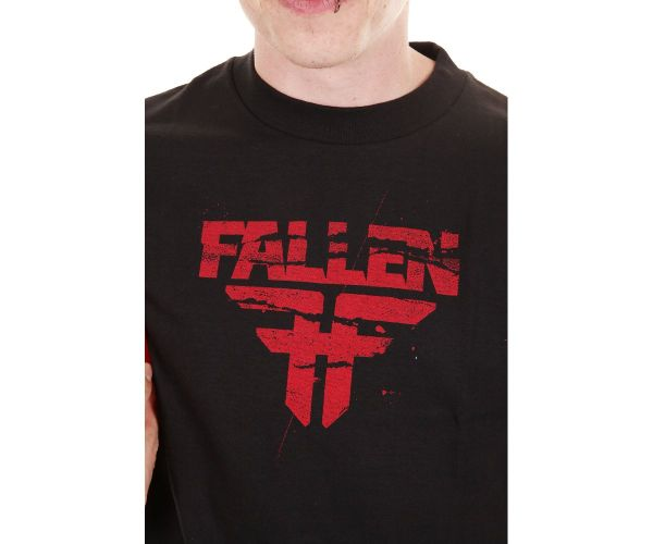 Fallen T-Shirt Feedback Black / Red M