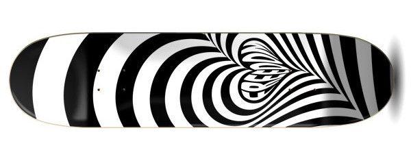 Freedom Hypnolove Black Skateboard Deck