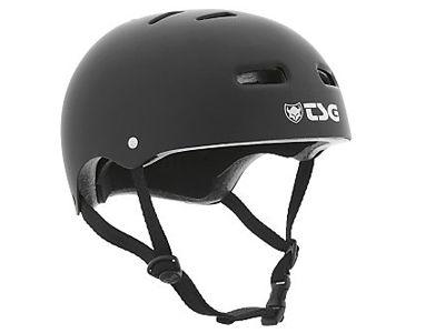 TSG Evolution Solid Colors Helm Flat Black L/XL