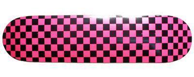 Moose Checkered Pink Skateboard Deck