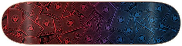Darkstar Team Cards Skateboard Deck 8.25