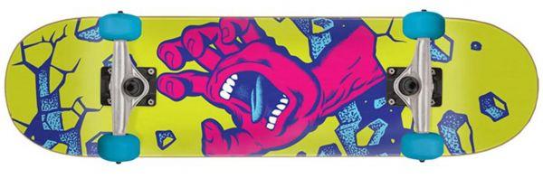 Santa Cruz Wall Hand Komplett Skateboard 7.5