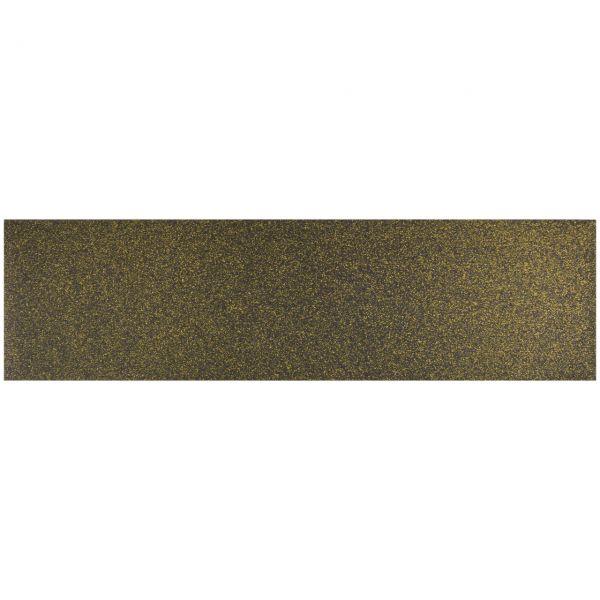 Black Diamond Skateboard Griptape Gold Glitter