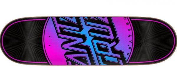 Santa Cruz Skateboard Deck Total Dot black VX 8.5