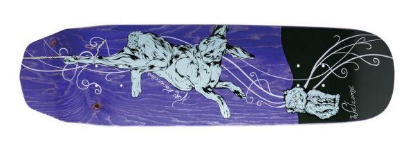 Welcome Fairy Tale Wicked Queen Skateboard Deck 8.6