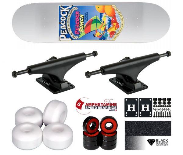 Primitive Peacock Capri Komplett Skateboard 8.1