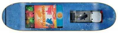 Robotron Kaugummi Skateboard Deck 8.2