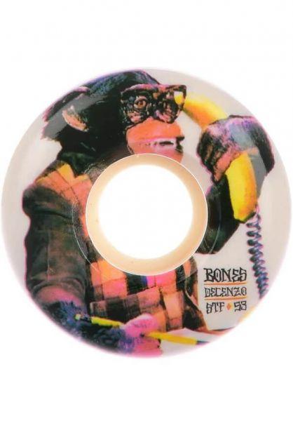 Bones Wheels Skateboard Rollen STF Decenzo Monkey Bizz 83b V2 53mm