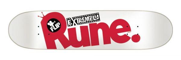 "Flip Rune Glifberg Extremely Skateboard Deck 8.25"""