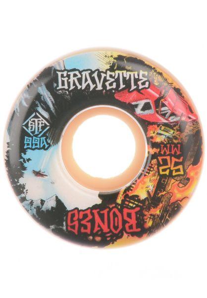 Bones Wheels Skateboard Rollen STF Gravette Heaven & Hell 99A V2 53mm