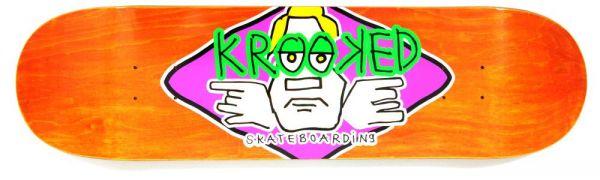Krooked Team Arketype Orange LRG Skateboard Decks 8.25