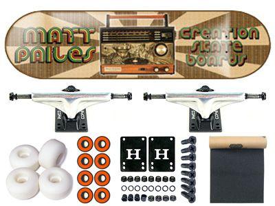 SALE Creation Matt Pailes Boom Box Komplett Skateboard 7.688